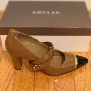 Anyi Lu Stefania2 Mocha Shoes